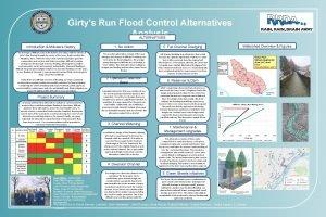 Girtys Run Flood Control Alternatives Analysis ALTERNATIVES Introduction