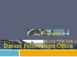 What are Fellowships Opportunity Research Growth Prestige Money