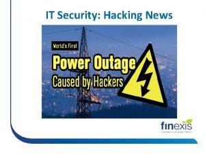 IT Security Hacking News IT Security Hacking News