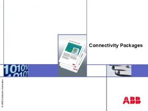 ABB Distribution Automation Connectivity Packages Connectivity package overview