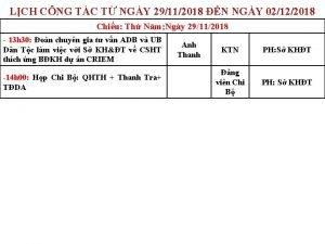 LCH CNG TC T NGY 29112018 N NGY