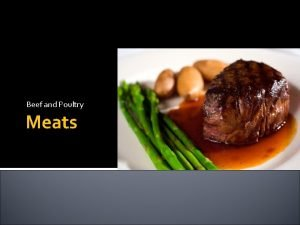 Beef and Poultry Meats Protein You need 5