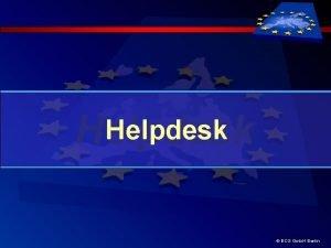 Helpdesk ECG Gmb H Berlin Helpdesk Erluterung Helpdesk