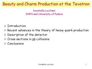 Beauty and Charm Production at the Tevatron Donatella