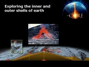 Exploring the inner and outer shells of earth