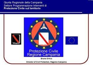 Giunta Regionale della Campania Settore Programmazione Interventi di