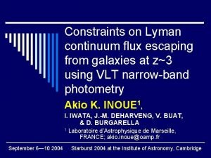 Constraints on Lyman continuum flux escaping from galaxies