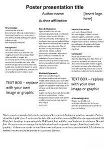 Poster presentation title Insert logo here Author name