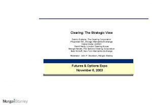 Clearing The Strategic View Dennis Dutterer The Clearing