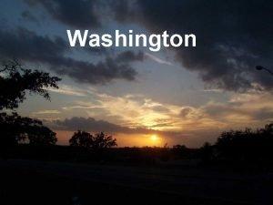 Washington Washington 10 000 year old glaciated land