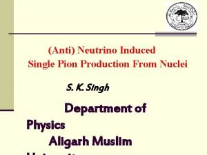 Anti Neutrino Induced Single Pion Production From Nuclei