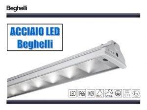 WHAT IS ACCIAIO LED Acciaio Beghelli LED is