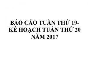 BO CO TUN TH 19 K HOCH TUN
