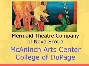 Mermaid Theatre Company of Nova Scotia Mc Aninch