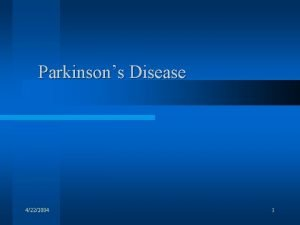 Parkinsons Disease 4222004 1 Illustrations from Principles of