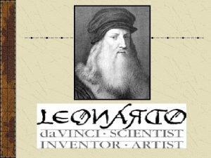 Leonardo da Vinci was born on April 15