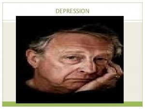 DEPRESSION Cognitive explanations of depression Ao 2 What