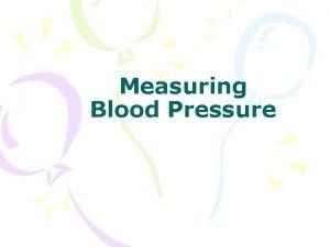 Measuring Blood Pressure Why Blood Pressure Accurate Blood