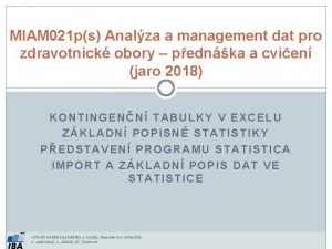 MIAM 021 ps Analza a management dat pro