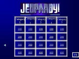 Category Category 5 1 3 4 2 100