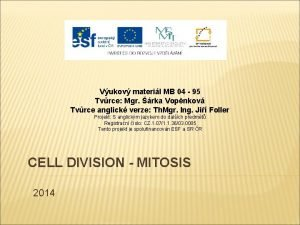Vukov materil MB 04 95 Tvrce Mgr rka