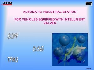 AUTOMATIC INDUSTRIAL STATION FOR VEHICLES EQUIPPED WITH INTELLIGENT