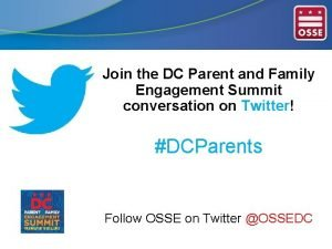 Join the DC Parent and Family Engagement Summit