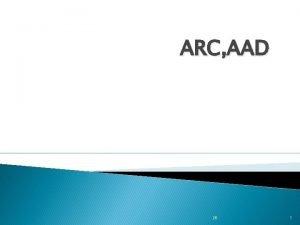 ARC AAD 26 1 Pusat Kegiatan Pusat kegiatan