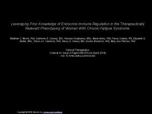 Leveraging Prior Knowledge of Endocrine Immune Regulation in