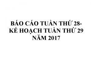 BO CO TUN TH 28 K HOCH TUN