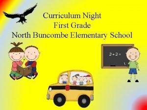 Curriculum Night First Grade North Buncombe Elementary School