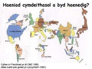 Haeniad cymdeithasol a byd haenedig Cyfran or Farchnad