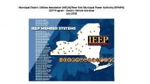 Municipal Electric Utilities Association MEUANew York Municipal Power