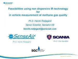 Sensors for Life Possibilities using non dispersive IRtechnology