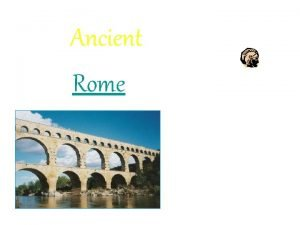 Ancient Rome How did Rome get its Name