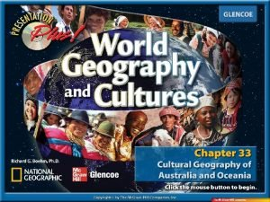 Introduction Section 1 Australia and New Zealand Section