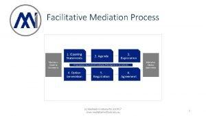 Facilitative Mediation Process c Mediation Institute Pty Ltd