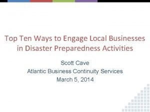 Top Ten Ways to Engage Local Businesses in