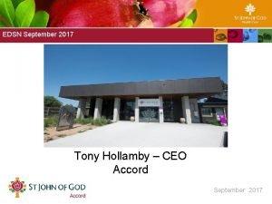 Marillac EDSN September Board Presentation 2017 September 2016