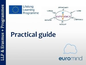 LLP Erasmus Programmes Practical guide LLP Erasmus Programmes