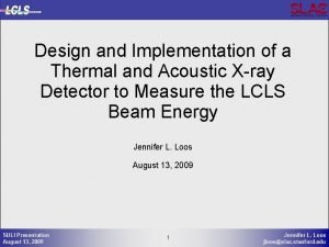 Design and Implementation of a Thermal and Acoustic