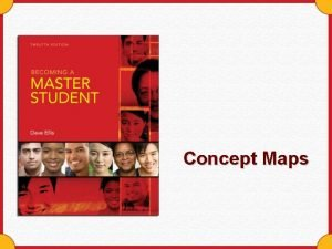 Concept Maps Concept Maps A visual device to
