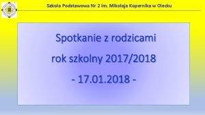 Szkoa Podstawowa Nr 2 im Mikoaja Kopernika w