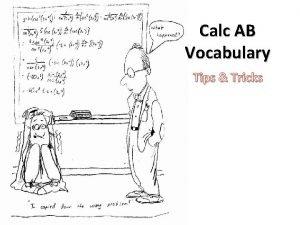 Calc AB Vocabulary Tips Tricks Horizontal Asymptotes Example