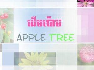 ed Ime am Apple tree ed Ime am