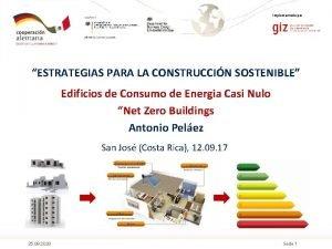 Implementado por ESTRATEGIAS PARA LA CONSTRUCCIN SOSTENIBLE Edificios