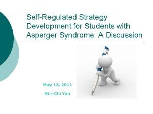 SelfRegulated Strategy Development for Students with Asperger Syndrome
