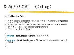8 Coding find Shortest Path Dijkstra Algorithm cities