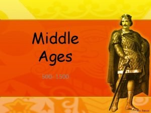 Middle Ages 500 1500 Ms Ramos Pope crowns