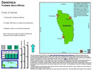 Dominica 15 75 N Probable Storm Effects Points